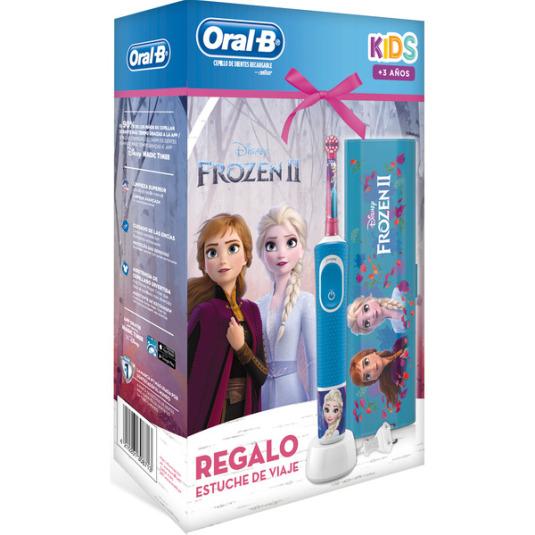 oral-b vitality cepillo eléctrico kids frozen II