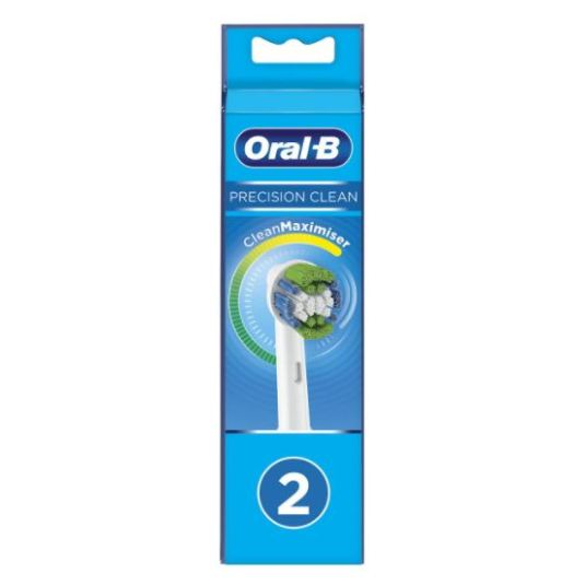 oral b recambio cepillo dental electrico precision clean 2 unidades