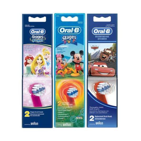 oral b recambio cepillo infantil 2ud