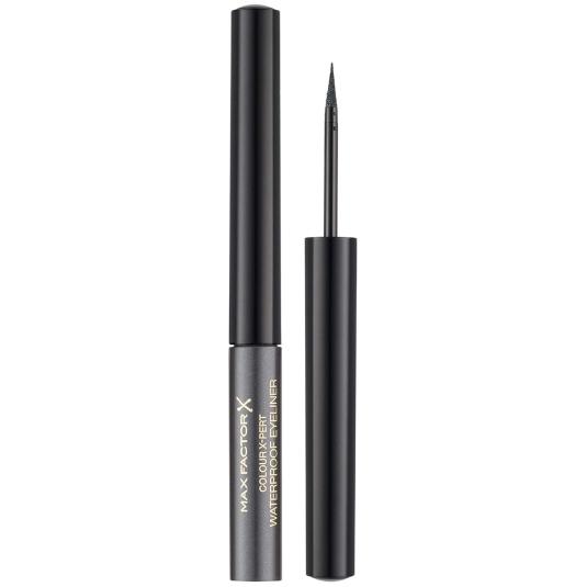 max factor colour x-pert waterproof eyeliner 02 metallic anthracite