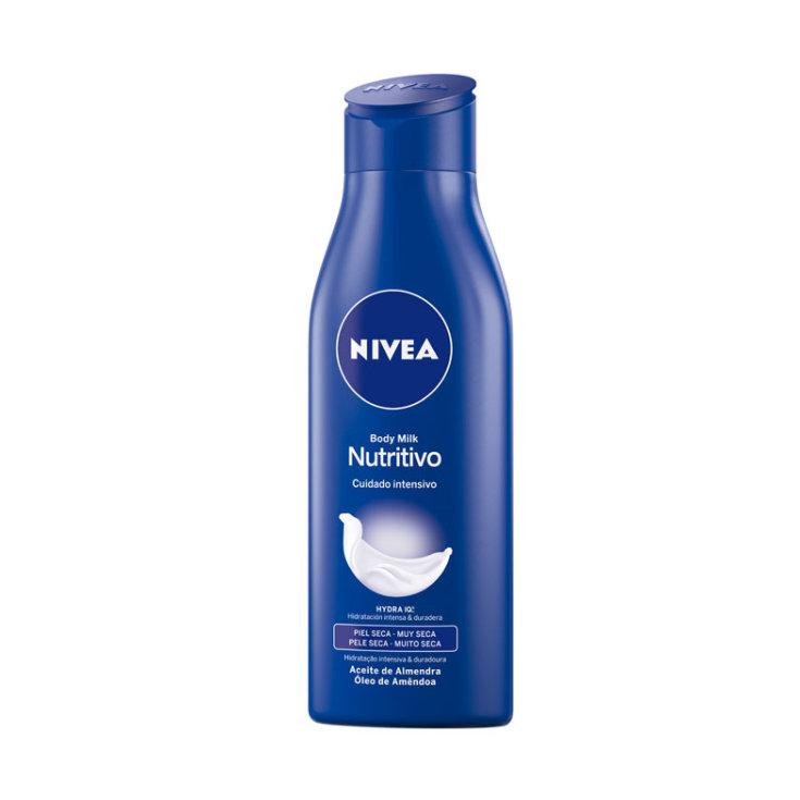 nivea body milk nutritiva piel seca muy seca 75ml
