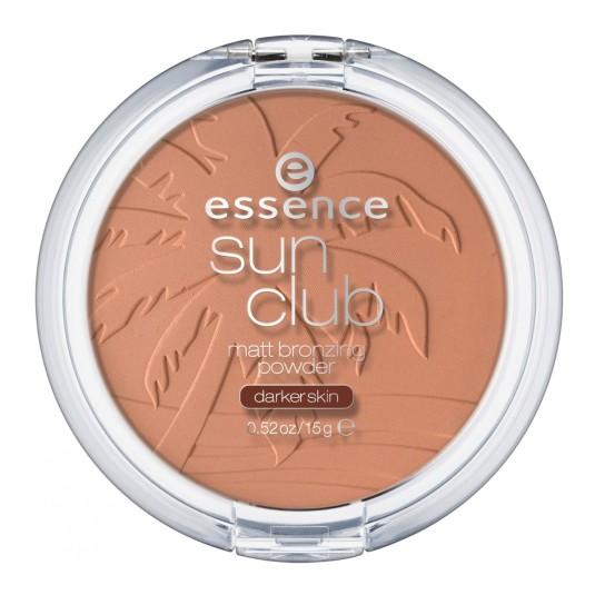 essence sun club polvos bronceadores