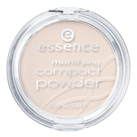 essence polvos compactos matificantes light beige