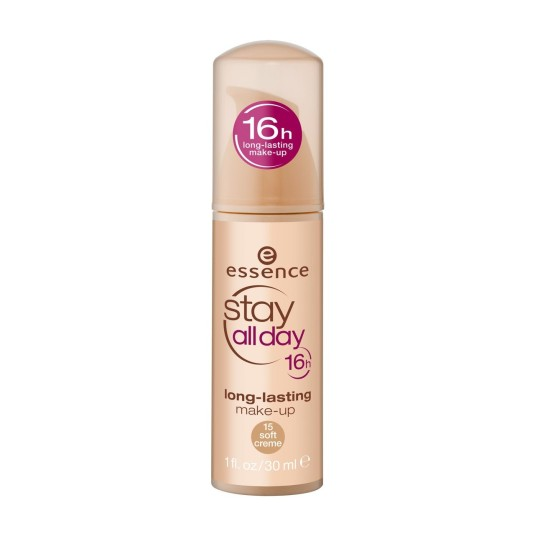 essence stay all day 16h long-lasting base de maquillaje de larga duración