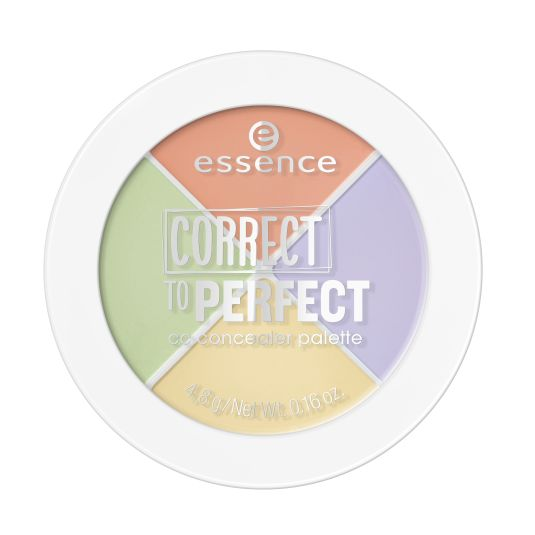 essence correct to perfect paleta de correctores
