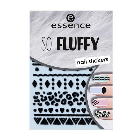 ESSENCE SO FLUFFY AUTOADHESIVOS NAIL ART