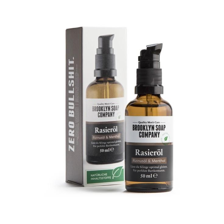 brooklyn soap company aceite para el afeitado 50 ml