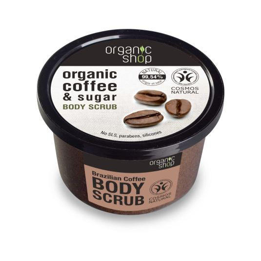 ORGANIC SHOP EXFOLIANTE CORPORAL BRAZILIAN COFFEE 250 ML
