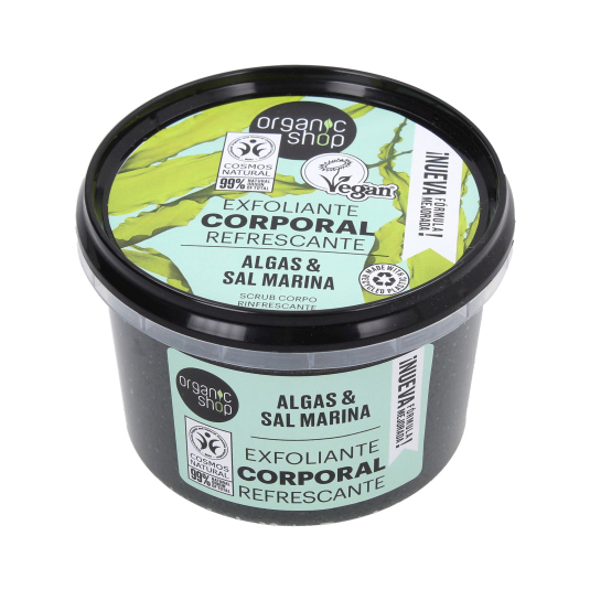 ORGANIC SHOP EXFOLIANTE CORPORAL ALGAS DEL ATLANTICO 250 ML