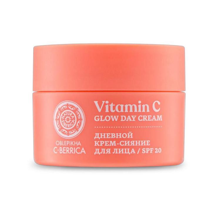 c- berrica crema dia facial iluminadora 50ml