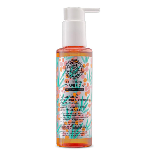c- berrica gel limpiador facial espumoso 145ml