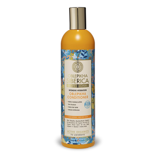 natura siberica oblepikha cabello normal o seco 400ml