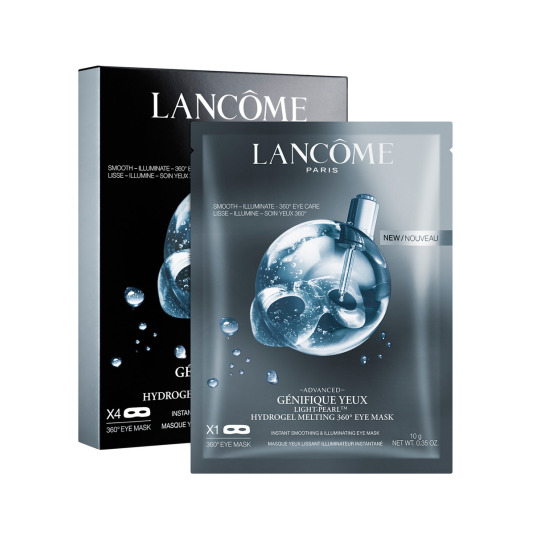 lancome advanced génifique yeux light pearl hydrogel melting 360 eye mascarilla contorno ojos 10g