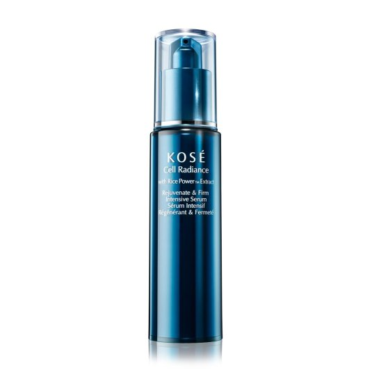 kose cell radiance with rice bran rejuvenate & firm intensive serum 30ml