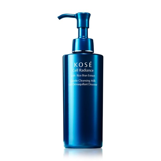 kose cell radiance with rice bran gentle cleansing milk 200ml