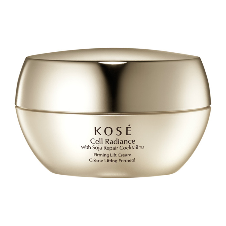 kose cell radiance with soja repair cocktail   firming lift cream 40ml