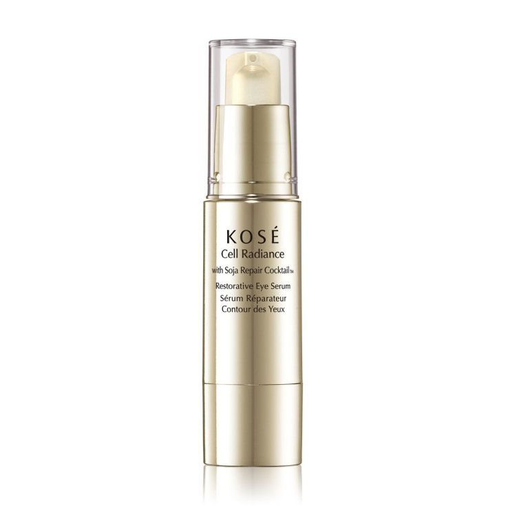kose cell radiance with soja repair cocktail restorative eye serum 15ml