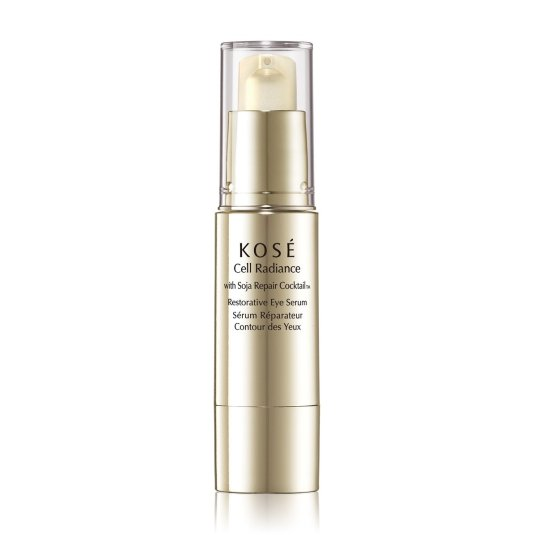 kose cell radiance with soja repair cocktail restorative eye serum 15ml