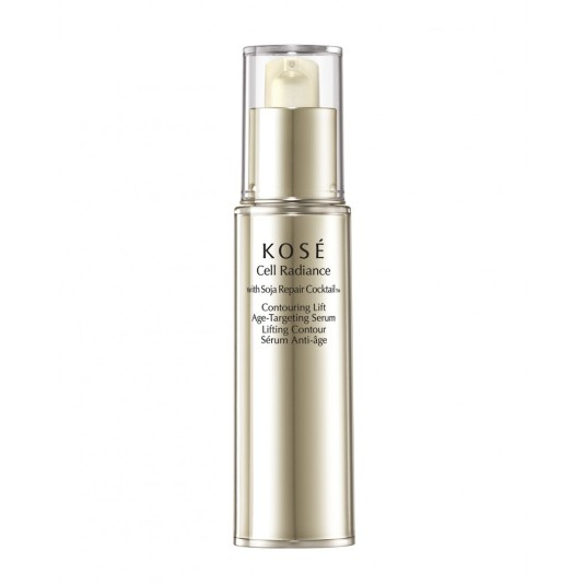 kose cell radiance with soja repair cocktail serum countouring lift 30ml