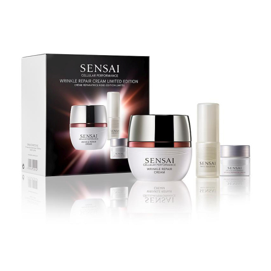 sensai cellular performance wrinkle repair set 3 piezas