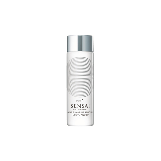 sensai silky purifying make-up remover eye and lip 100ml