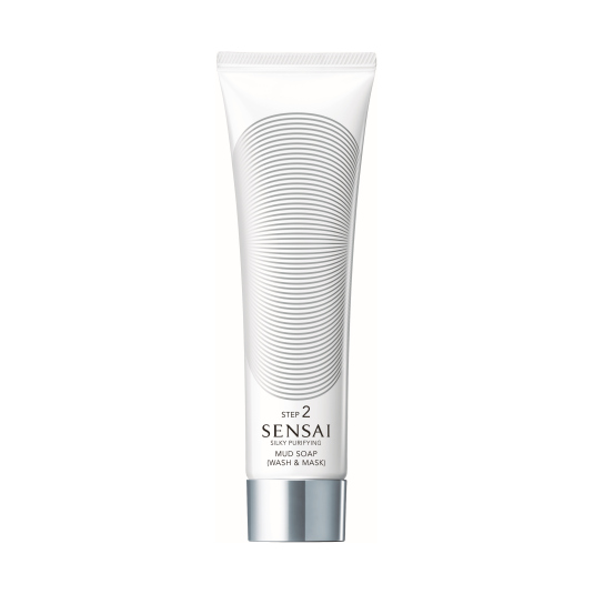 SENSAI SILKY PURIFYING MUD SOAP (Wash&Mask) 125ML