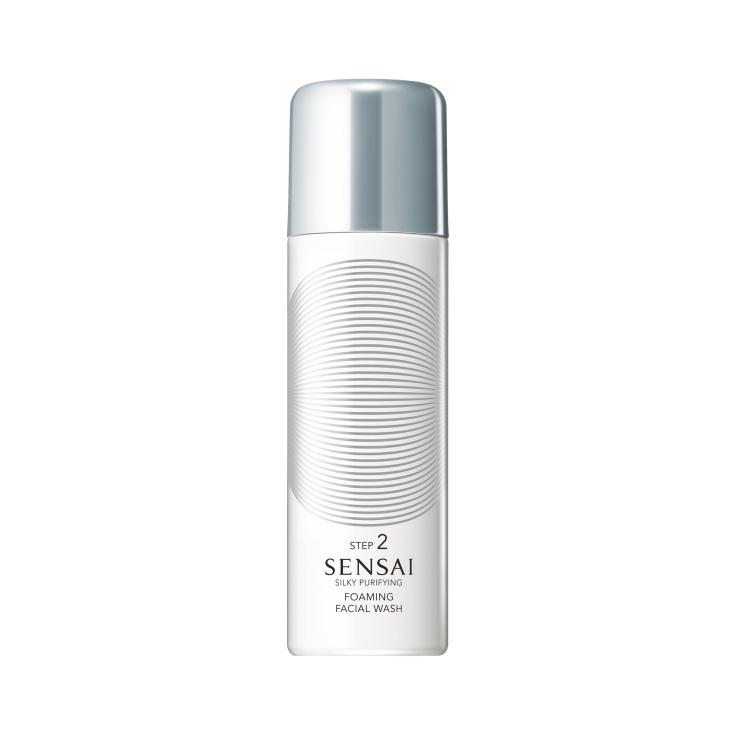 sensai silky purifying foaming facial wash 150ml