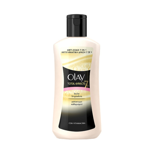 olay total effects 7en1 leche limpiadora anti-edad 200ml
