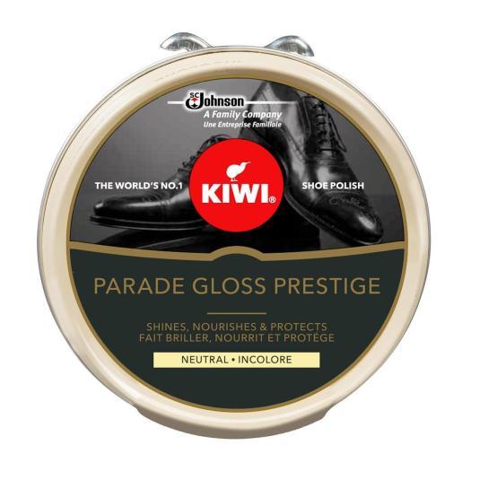kiwi parade gloss prestige crema zapatos incolora lata 50ml