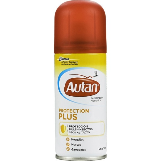 autan protection plus repelente de insectos spray 100ml
