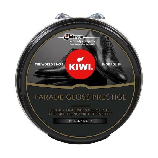 kiwi parade gloss prestige crema zapatos marron negra lata 50ml