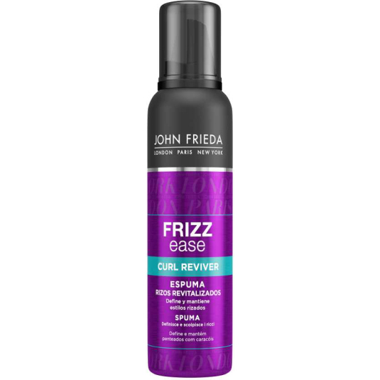 john frieda frizz ease espuma revitalizadora de rizos 200ml