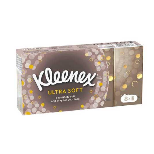 kleenex ultra soft pañuelos mini 8 unidades