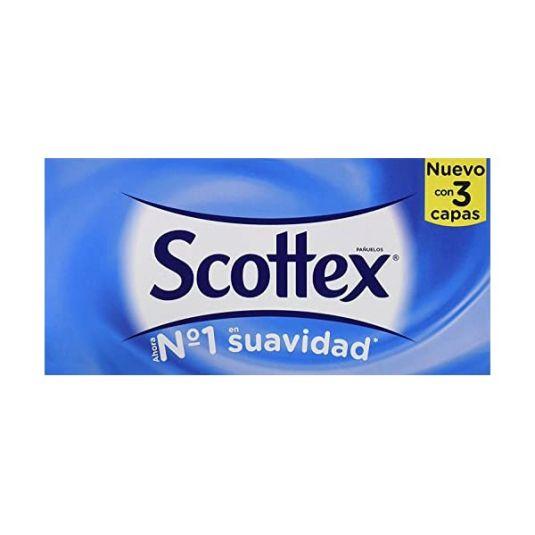scottex caja pañuelos