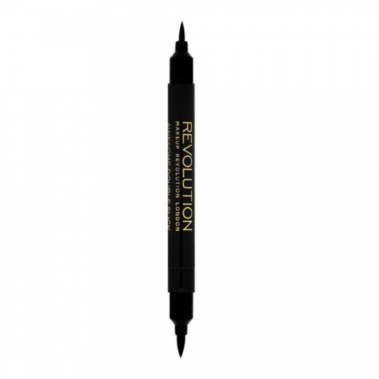 REVOLUTION EYELINER AWESOME DOUBLE FLICK THICK AND THIN