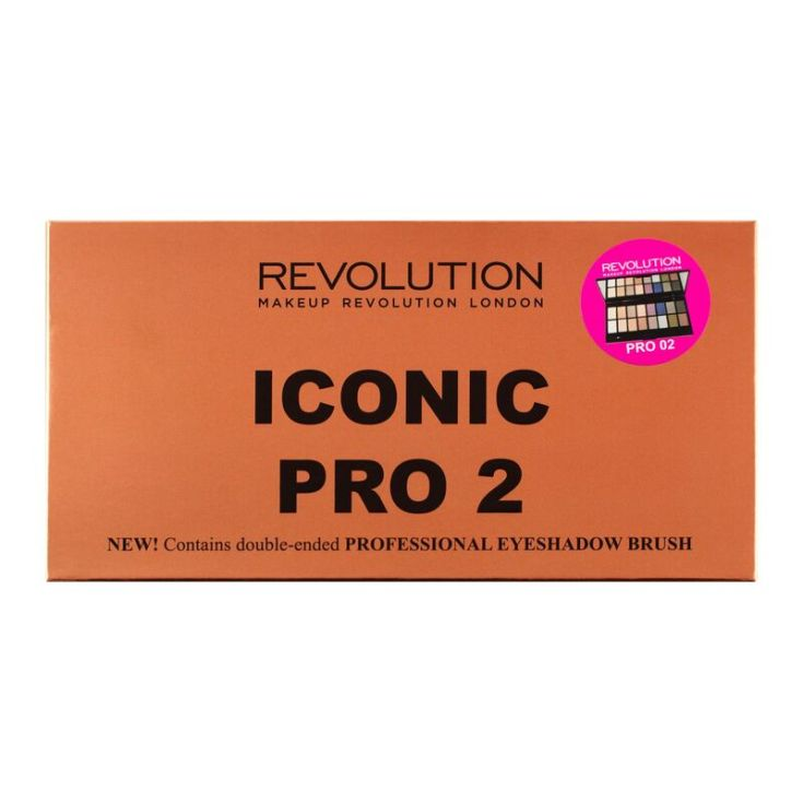 revolution iconic pro 2 paleta de sombra de ojos