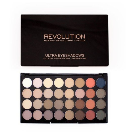 REVOLUTION EYESHADOW ULTRA PALETTE FLAWLES MATTE 2