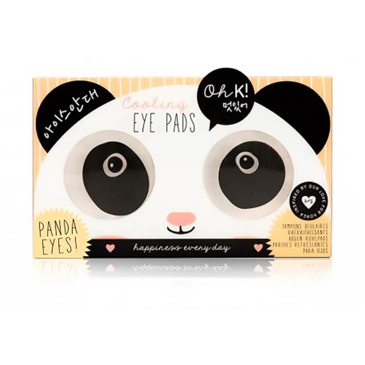 ohk! cooling eye  panda parches