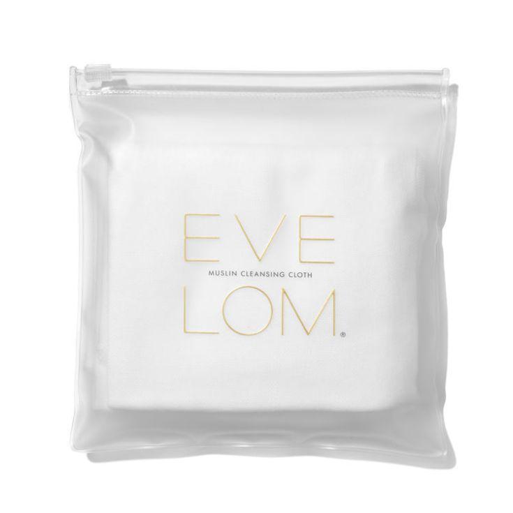 eve lom  muslin cloths toallitas limpiadoras faciales 3 ud.