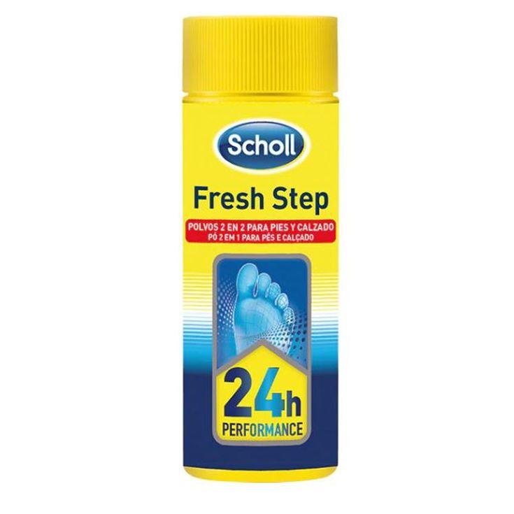 scholl odor control polvos superabsorbentes de pies y calzado 75g