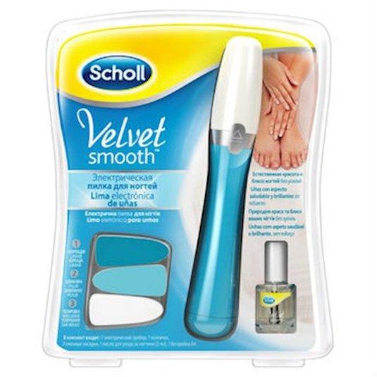 dr scholl velvet smooth lima de uñas electrica + aceite
