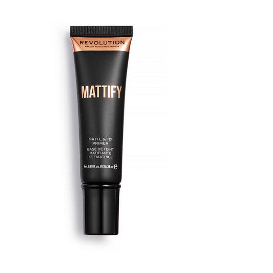 makeup revolution matte & fix mattify primer prebase matificante