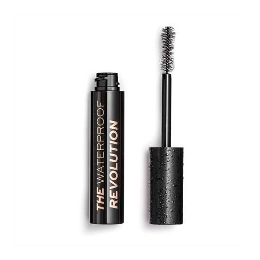makeup revolution revolution the waterproof mascara de pestañas negra