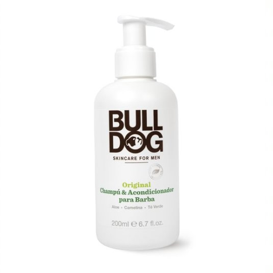 bulldog champu 2 en 1 para barba 200 ml