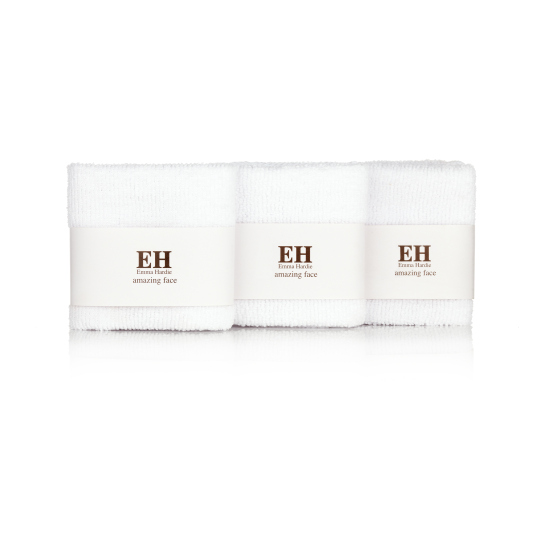 emma hardie 3 dual action professional cleansing cloths pack