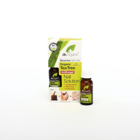 dr. organic árbol del té tratamiento uñas 10ml