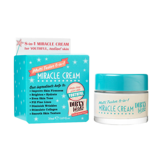DIRTY WORKS MIRACLE CREMA DE DIA 8EN1 50ML