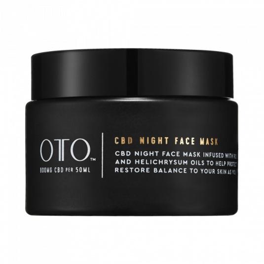 oto cbd night face mask 50 ml