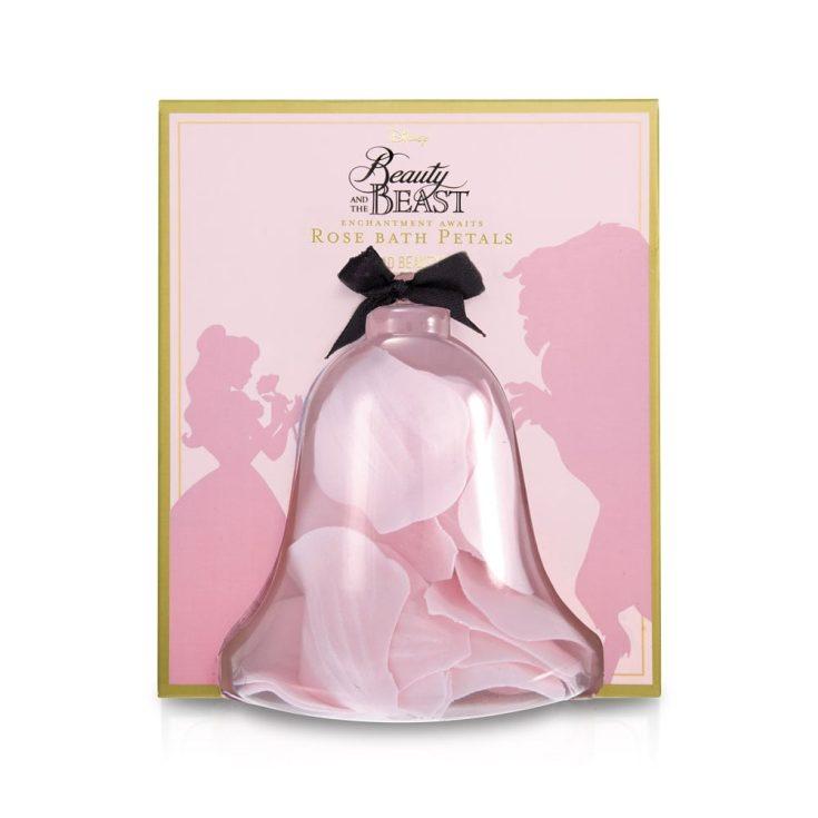 mad beauty la bella y la bestia petalos de baño esencia de rosa