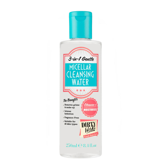 DIRTY WORKS AGUA MICELAR 250ML